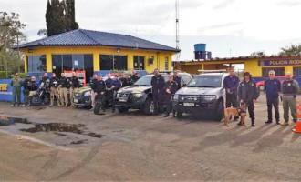 Forças de segurança federais iniciam ações integradas