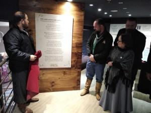 PLACA alusiva aos 120 anos da União Gaúcha foi inaugurada no Shopping