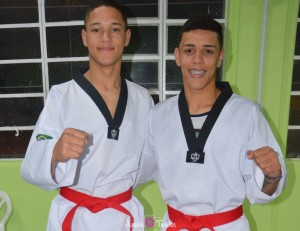 Marcelo Bispo e Lucas Ribeiro