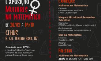 """Exposição """"Mulheres na Matemática"""" abre dia 30"""