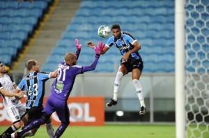 Lucas Rex fez gol na Arena quando comandado por Felipe Endres Foto: Lucas Uebel / Grêmio FBPA