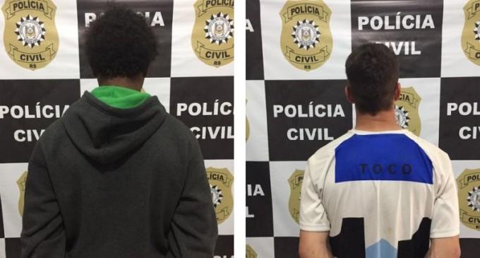 PEDRO OSÓRIO : Prisão para autores de  tentativa de homicídio