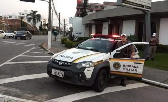 Forças de Segurança realizam operação na Av. Dom Joaquim