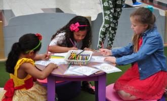 Partage Shopping promove oficinas divertidas gratuitas no Mundo Colorido