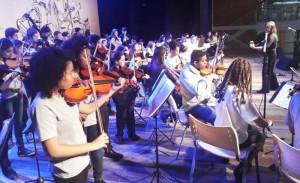Orquestra Estudantil Municipal foi criada ano passado pela SMED