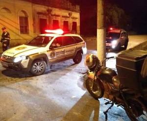 Ação conjunta da BM, Guarda Municipal e Agentes de Trânsito