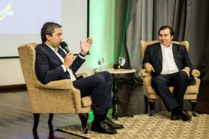 PRESIDENTE da Câmara dos Deputados esteve em Pelotas à convite do deputado Daniel Trzeciak