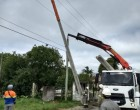 Colocação de postes para sistema LED começa na Adolfo Fetter