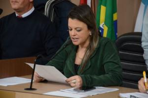 Vereadora Cristina Oliveira