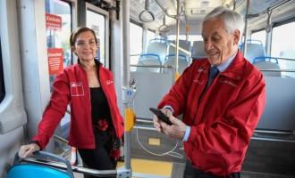Chile é líder em transporte público sustentável na América Latina