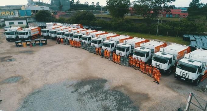 COLETA DE RESÍDUOS : Frota de veículos é renovada
