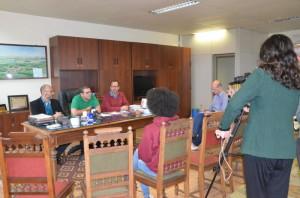 REITOR Pedro Hallal concedeu entrevista coletiva à imprensa ontem