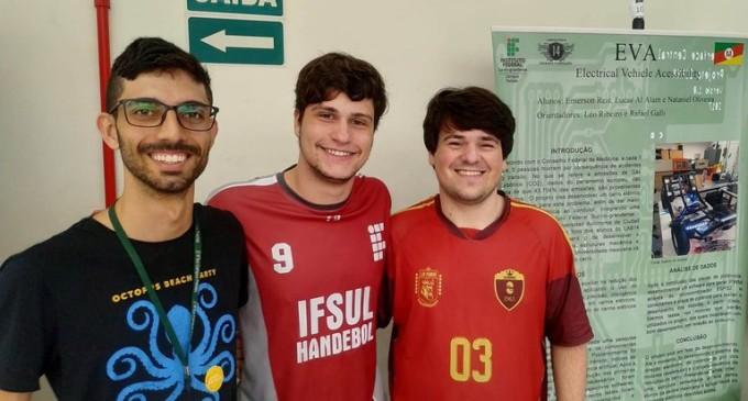IFSUL : Estudantes são destaque em feira binacional de tecnologia