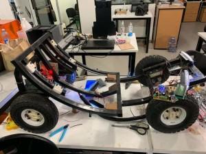 MENÇÃO Honrosa pela apresentação do projeto de um carro elétrico com acessibilidade
