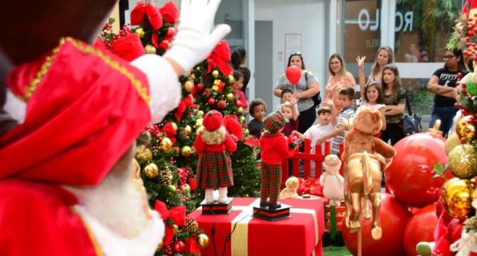 Papai Noel Chega Nesta Sexta Feira 15 Ao Partage Shopping