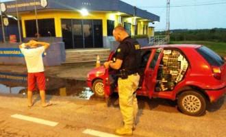 POLÍCIA RODOVIÁRIA : Motorista transitava com mais de 13 mil maços de cigarro