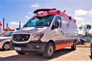 Veículo, que deverá ser entregue em cerca de 30 dias, ajudará a compor a reserva técnica do Samu