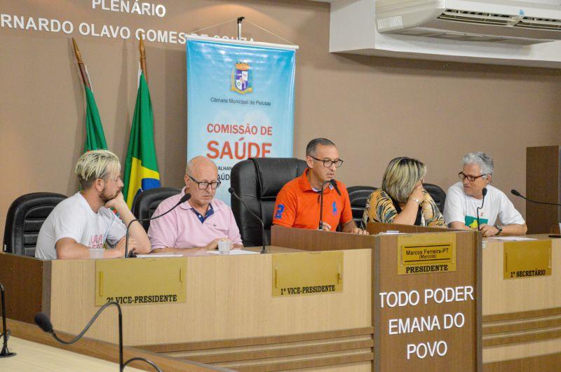 Câmara realizou audiência pública no Dia Mundial de Combate a AIDS. Foto: Lenise Slawski