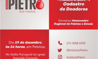 Pelotas terá campanha de cadastramento de doadores de medula óssea nesta quinta-feira
