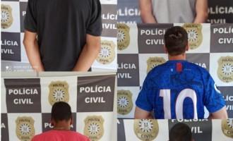 CAPÃO DO LEÃO  : Polícia Civil prende integrantes de  grupo criminoso no Jardim América