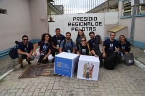 GRUPO de Choro esteve no Presídio Regional de Pelotas