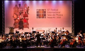 10º FESTIVAL SESC DE MÚSICA :  Esgotados os ingressos antecipados para três concertos