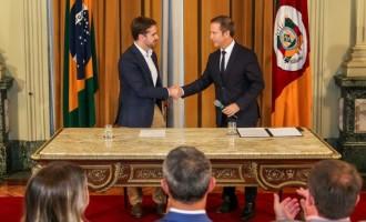PALÁCIO PIRATINI : Deputado Lara assume Governo do Estado