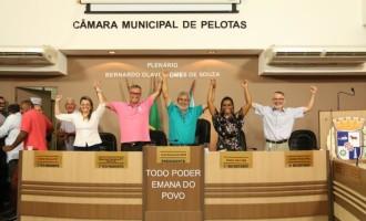 CÂMARA : Nova Mesa é eleita e Orçamento do Executivo aprovado