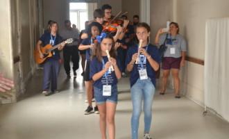 Orquestra Municipal leva música à Santa Casa