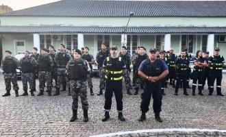OPERAÇÃO INTEGRADA : Cem veículos abordados e duas armas apreendidas