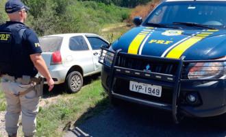 CAPÃO DO LEÃO : Veículo furtado é recuperado  pela Polícia Rodoviária na BR