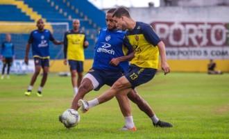 PELOTAS : Preparação para pegar o Inter