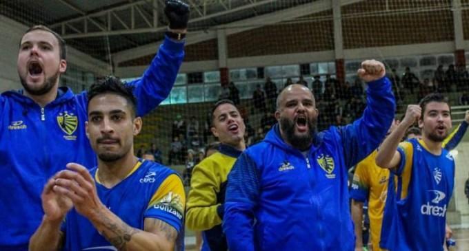 O LOBO NO LOBO : Técnico Paulo analisa temporada à frente do Futsal do Pelotas
