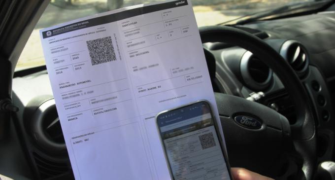 DETRAN  : Documento CRLV já pode ser impresso pelo proprietário