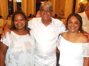 Daniela Brizolara, homenageado J.J. Soares e Denise Vargas