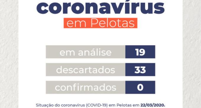 Município continua sem casos confirmados de coronavírus
