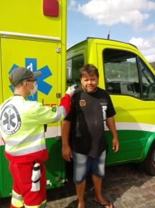 Concessionária promove ações de saúde e apoia iniciativa do Posto Buffon com distribuição gratuita de refeições