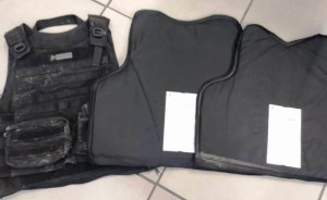 Recuperado colete balístico da Polícia Civil