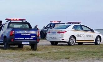 LARANJAL : Segurança pública adverte  para o risco de aglomeração