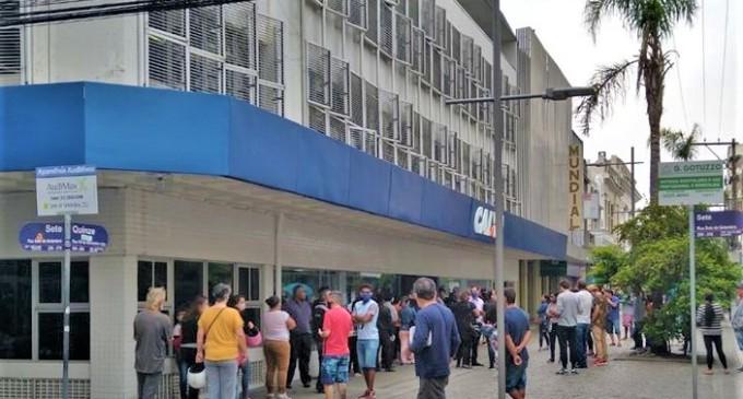 AUXÍLIO EMERGENCIAL  : Agências da Caixa abrem sábado para o pagamento do benefício