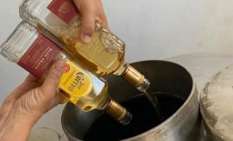 Receita Federal em Pelotas doa mais de 34,4 mil garrafas de bebidas alcoólicas para produção de álcool gel