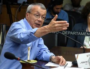Pedro Pereira participa de videoconferência com o presidente do Banrisul