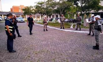 OPERAÇÃO INTEGRADA : Policiamento e orientação à população