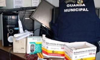 AREAL  : Homem arromba Unidade Básica de Saúde