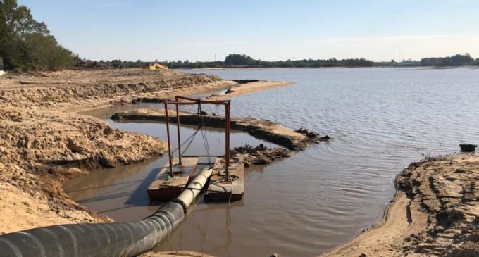 Sanep fará novo aprofundamento para captar água da Barragem