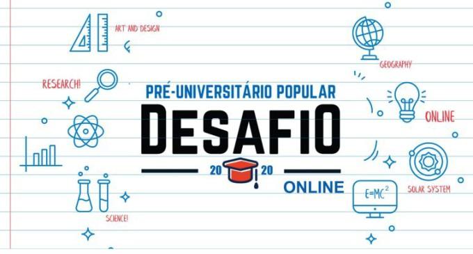 UFPEL : Desafio Pré-Universitário Popular terá aulas ao vivo pelo Facebook e YouTube