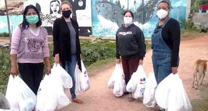 SEGURANÇA ALIMENTAR : Fórum entrega cestas e  prossegue a campanha