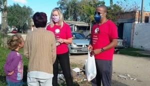 Doações chegaram a 120 famílias cadastradas por organizações populares