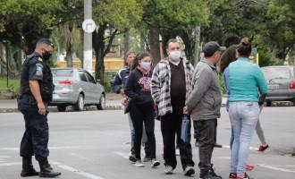Multa por não usar máscara vale a partir desta quinta-feira (16) em Pelotas