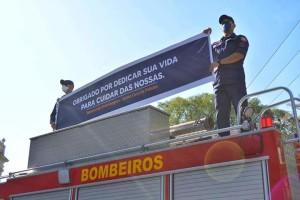 Homenagem Profssinais Saúde Brigada 02